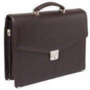 Кожаный портфель Lakestone Richeson brown