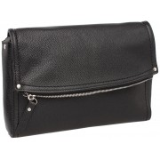 Женская кожаная сумка кросс-боди Lakestone Ripley black