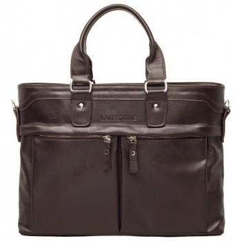 Деловая сумка Lakestone Robertson brown
