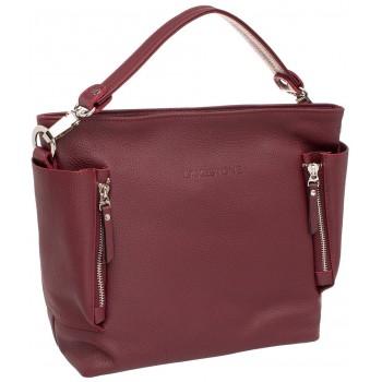 Женская сумка через плечо Lakestone Sabrina burgundy