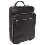 Кожаный рюкзак Lakestone Salmons black