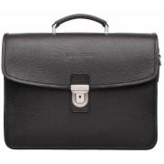 Кожаный портфель Lakestone Shaldon black
