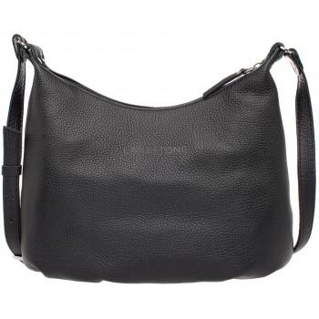 Женская кожаная сумка Lakestone Sloan black