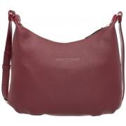Женская кожаная сумка Lakestone Sloan burgundy