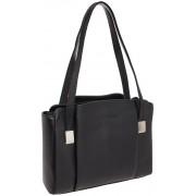 Женская кожаная сумка Lakestone Tara black