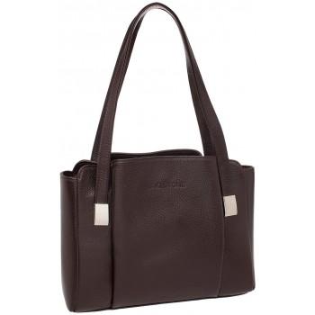 Женская кожаная сумка Lakestone Tara brown