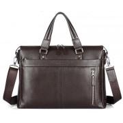 Деловая сумка Manberce P102-1 brown