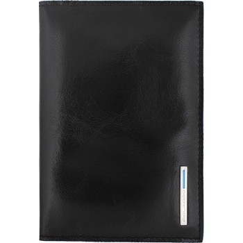 Обложка для паспорта Piquadro Blue Square AS300B2/N black