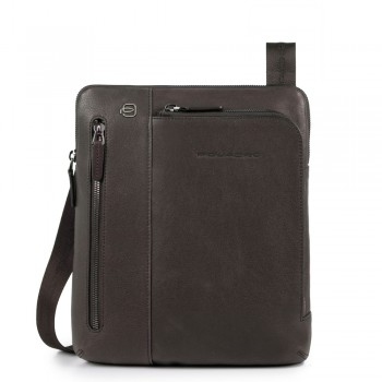 Сумка через плечо Piquadro Black Square CA1816B3/TM темно-коричневого цвета