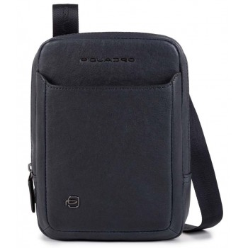 Мужская сумка через плечо Piquadro Black Square CA3084B3/BLU синего цвета
