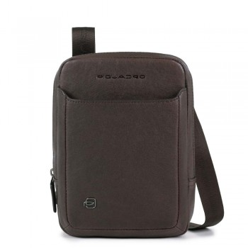 Мужская сумка через плечо Piquadro Black Square CA3084B3/TM темно-коричневого цвета