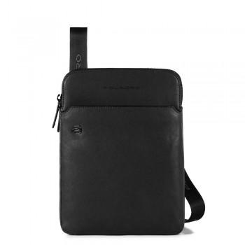 Мужская сумка через плечо Piquadro Black Square CA3978B3/N черного цвета