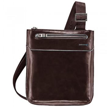 Мужская сумка через плечо Piquadro Blue Square (CA1358B2/MO) коричневого цвета