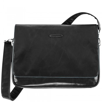 Мужская сумка Piquadro Blue Square (CA1403B2/N) черного цвета