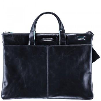 Мужская сумка Piquadro Blue Square (CA1618B2/BLU2) синего цвета