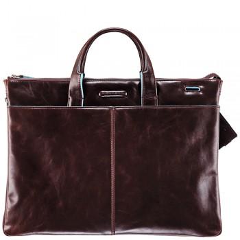 Мужская сумка Piquadro Blue Square (CA1618B2/MO) коричневого цвета