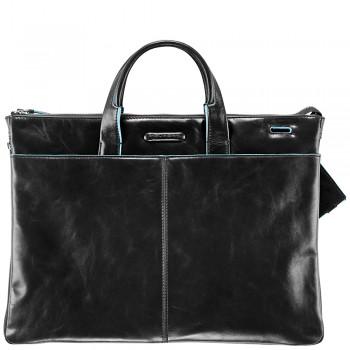 Мужская сумка Piquadro Blue Square (CA1618B2/N) черного цвета