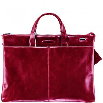 Мужская сумка Piquadro Blue Square (CA1618B2/R) красного цвета