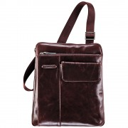 Мужская сумка через плечо Piquadro Blue Square (CA1815B2/MO) коричневого цвета
