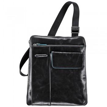 Мужская сумка через плечо Piquadro Blue Square (CA1815B2/N) черного цвета
