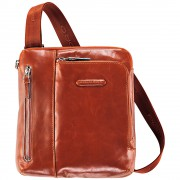 Мужская сумка через плечо Piquadro Blue Square (CA1816B2/AR) оранжевого цвета
