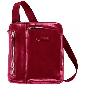 Мужская сумка через плечо Piquadro Blue Square (CA1816B2/R) красного цвета