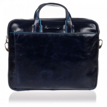 Мужская сумка Piquadro Blue Square (CA1903B2/BLU2) синего цвета