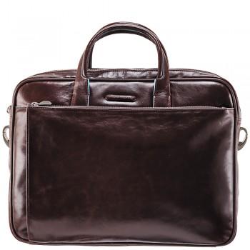 Мужская сумка Piquadro Blue Square (CA1903B2/MO) коричневого цвета