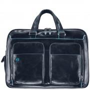 Мужская сумка Piquadro Blue Square (CA2765B2/BLU2) синего цвета