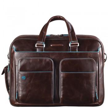 Мужская сумка Piquadro Blue Square (CA2765B2/MO) коричневого цвета