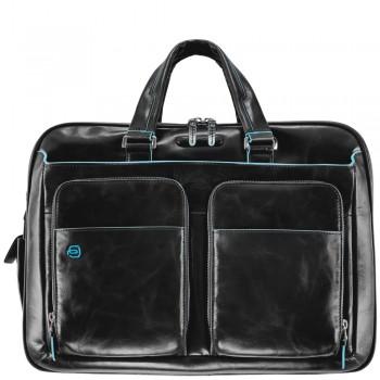 Мужская сумка Piquadro Blue Square (CA2765B2/N) черного цвета