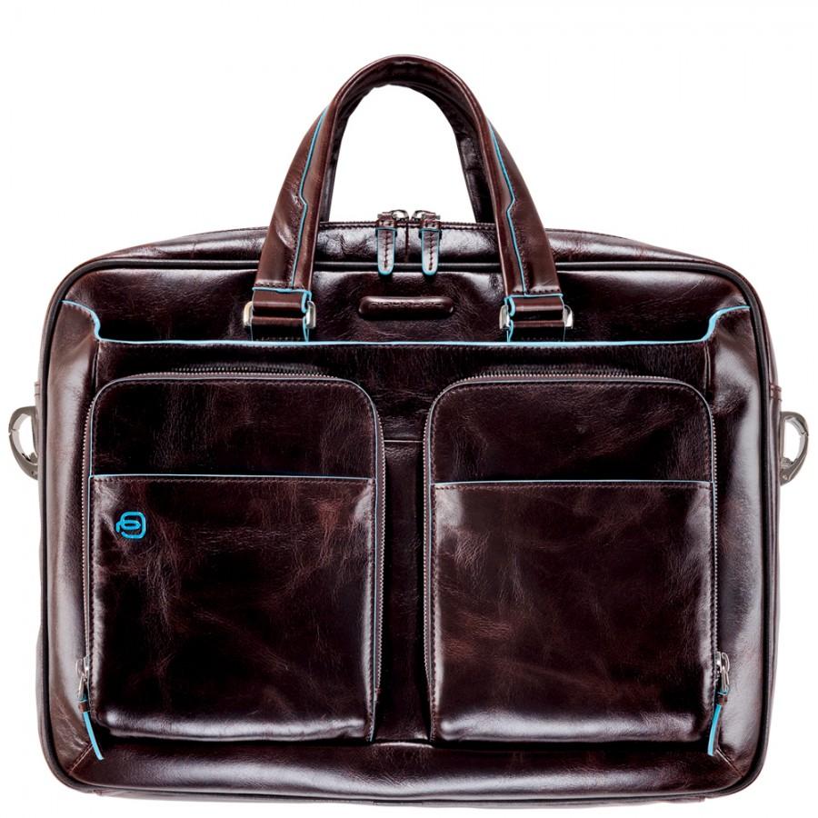 d409bb5d3b86 Мужская сумка Piquadro Blue Square (CA2849B2/MO) коричневого цвета