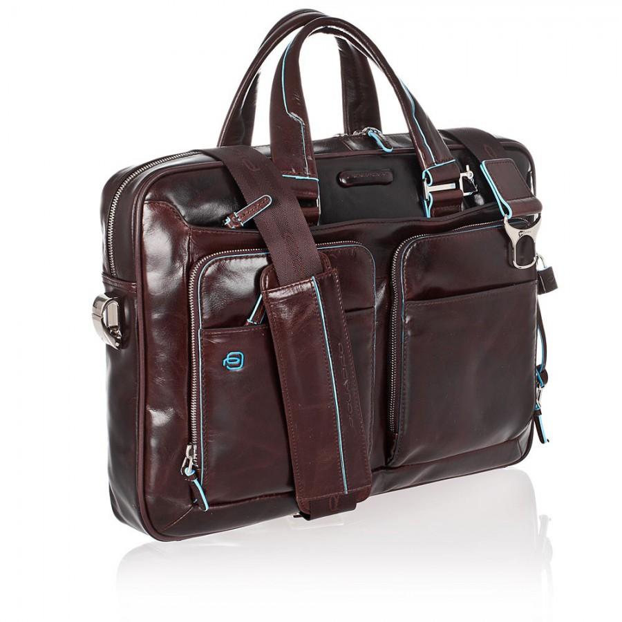89979bb4250e Мужская сумка Piquadro Blue Square (CA2849B2/MO) коричневого цвета ...