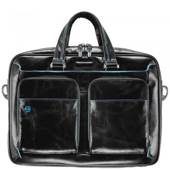 Мужская сумка Piquadro Blue Square (CA2849B2/N) черного цвета
