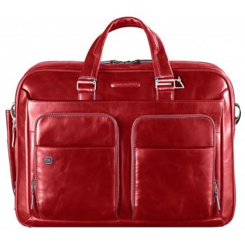 Мужская сумка Piquadro Blue Square (CA2849B2/R) красного цвета