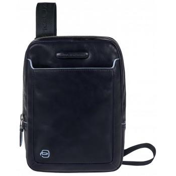Мужская сумка через плечо Piquadro Blue Square (CA3084B2/BLU2) синего цвета