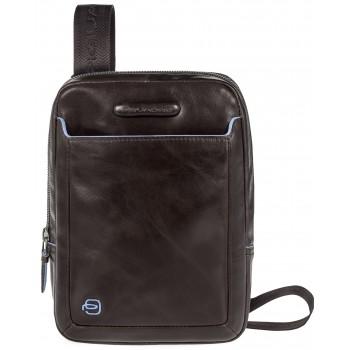 Мужская сумка через плечо Piquadro Blue Square (CA3084B2/MO) коричневого цвета