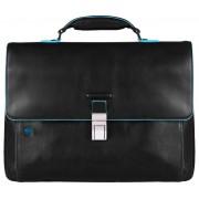 Мужской портфель Piquadro Blue Square (CA3111B2/N) черного цвета