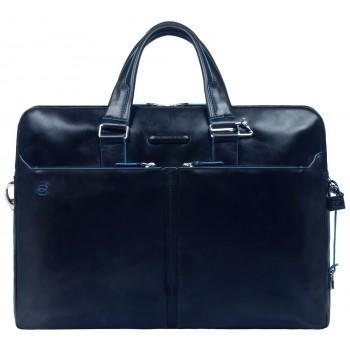 Мужская сумка Piquadro Blue Square (CA3147B2/BLU2) синего цвета