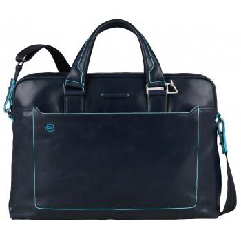 Мужская сумка Piquadro Blue Square (CA3335B2/BLU2) синего цвета