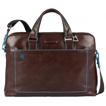 Мужская сумка Piquadro Blue Square (CA3335B2/MO) коричневого цвета