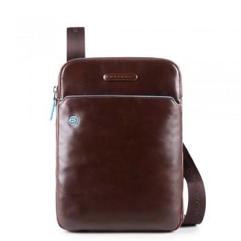 Мужская сумка через плечо Piquadro Blue Square CA3978B2/MO коричневого цвета