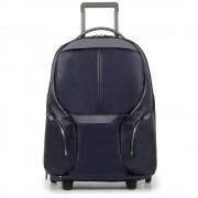 Чемодан-рюкзак Piquadro Coleos BV3148OS/BLU2 синего цвета