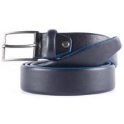 Кожаный ремень Piquadro Black Square CU4204B3/BLU2 blue
