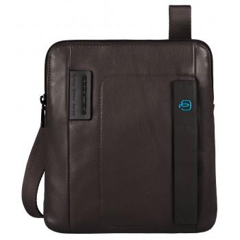 Мужская сумка через плечо Piquadro Pulse (CA1358P15/M) коричневого цвета