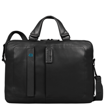 Мужская сумка Piquadro Pulse CA1903P15/N черного цвета