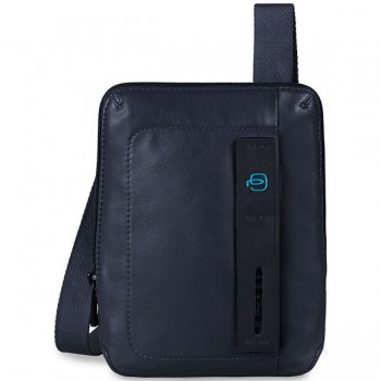 Мужская сумка через плечо Piquadro Pulse CA3084P15/BLU3 синего цвета