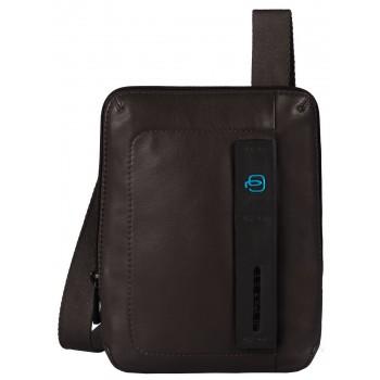 Мужская сумка через плечо Piquadro Pulse (CA3084P15/M) коричневого цвета
