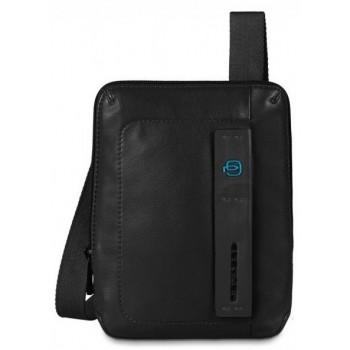 Мужская сумка через плечо Piquadro Pulse (CA3084P15/N) черного цвета
