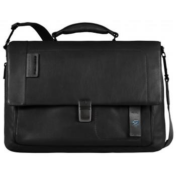 Мужской портфель Piquadro Pulse (CA3111P15/N) черного цвета